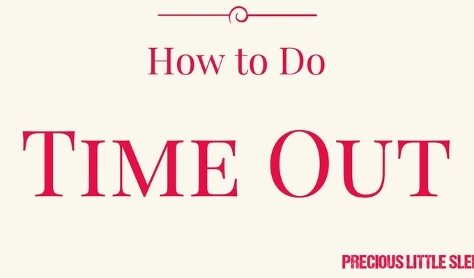 The Quick Guide to Toddler Time Out
