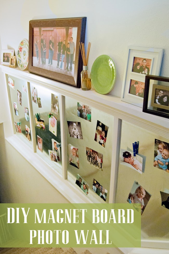 Diy Magnet Board Photo Wall Preciously Paired