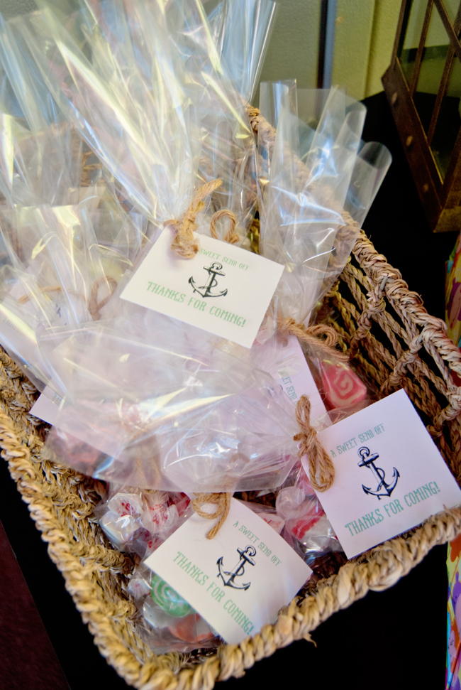 Nautical Baby Shower Party Favors