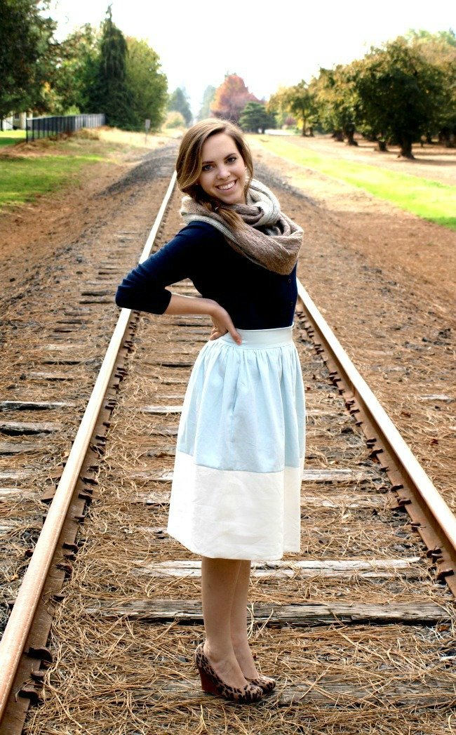 Mother Daughter Color Block Skirts | Preciously Paired