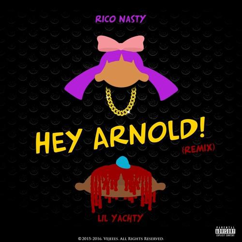 "Listen to Rico Nasty & Lil Yachty's Jubilant ""Hey Arnold"" Remix"