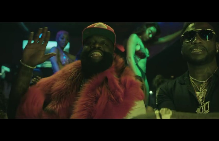 "63c7cf2f856 Rick Ross Feat. Gucci Mane – ""She On My Dick""  Music Video ..."