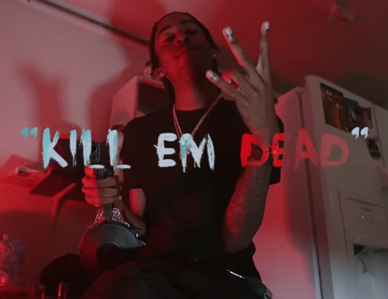 "Nothing But Red Beams From Lor Heavy In ""Kill Em Dead"""