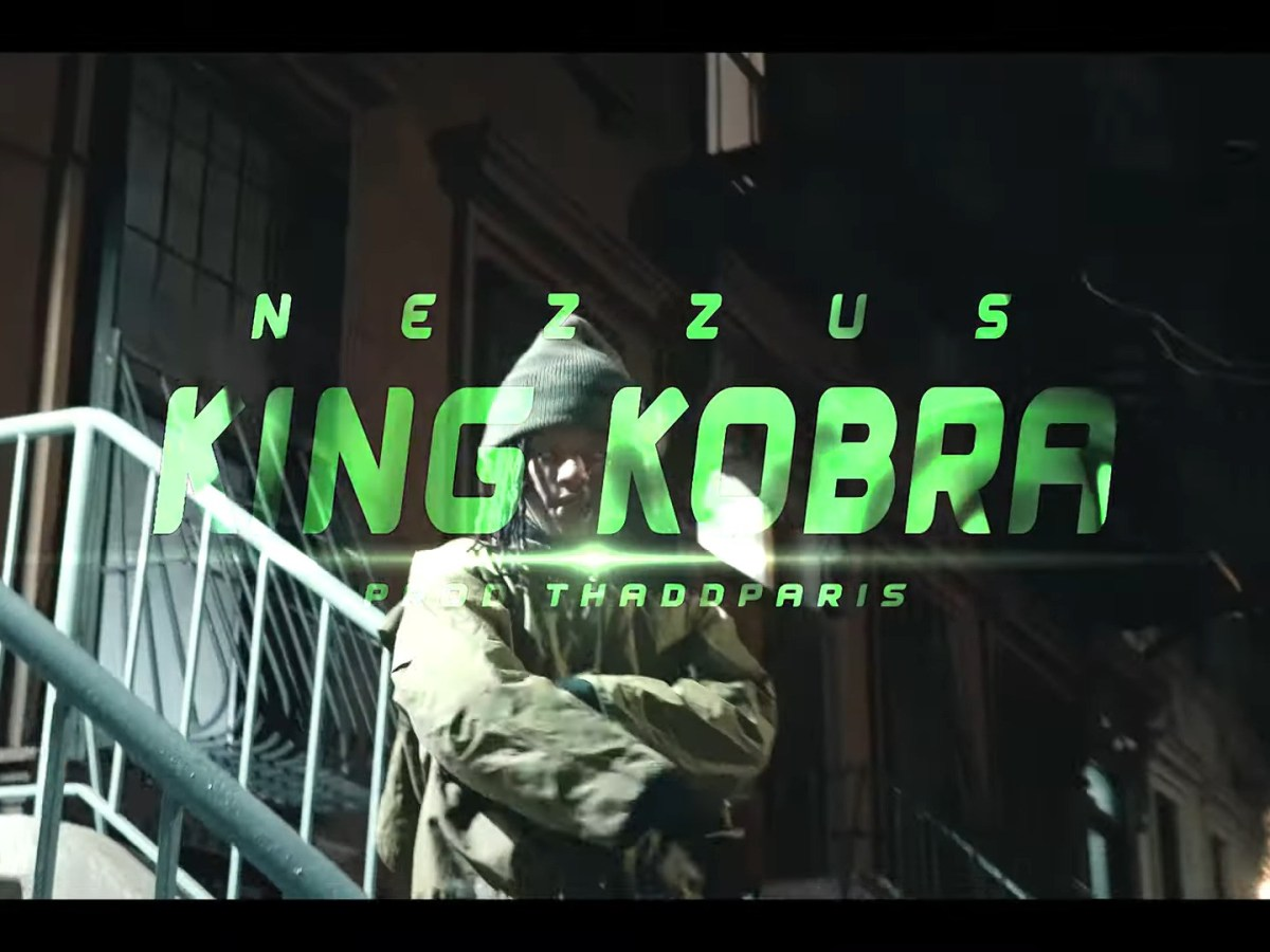 "NEZZUS GRINDS IN THE CUT FOR ""KING KOBRA"""