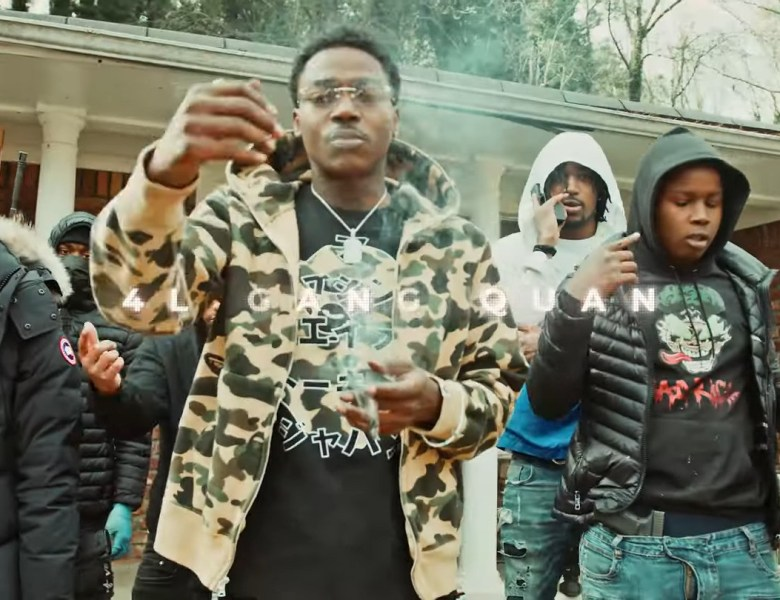 """2FeetBino Links With 4L Quan Out In East Point For """" In Da Spot"""""""