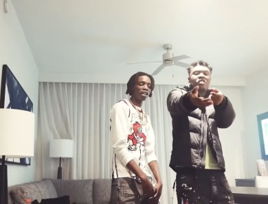 "Atm Tana & Soldier Kidd Pull Up With The Squad In ""At My Door"""