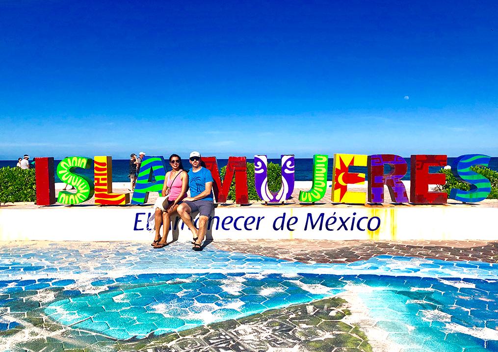 Isla Mujeres Parador Fotografico