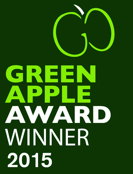 Green apple award winner 2015 Precision