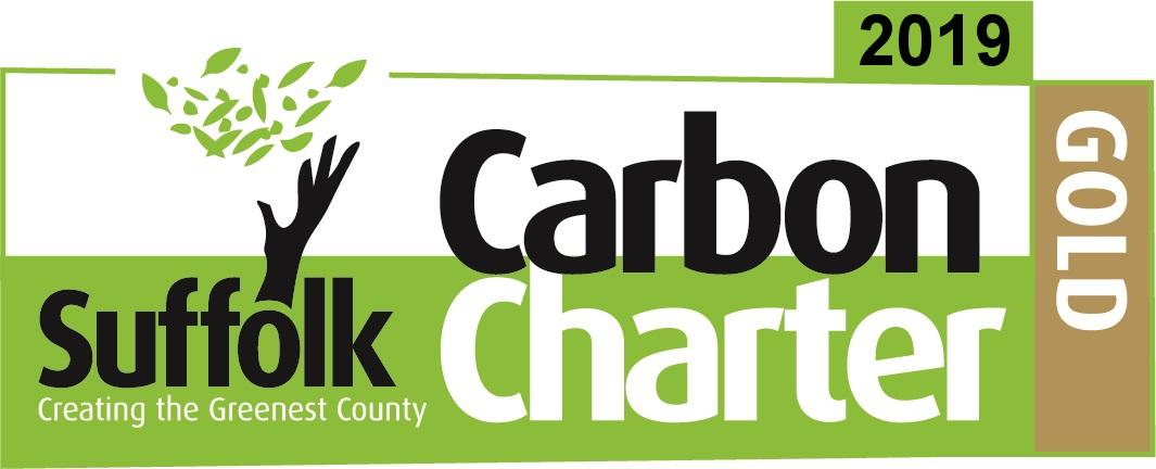 2019 Suffolk Carbon Charter Gold award