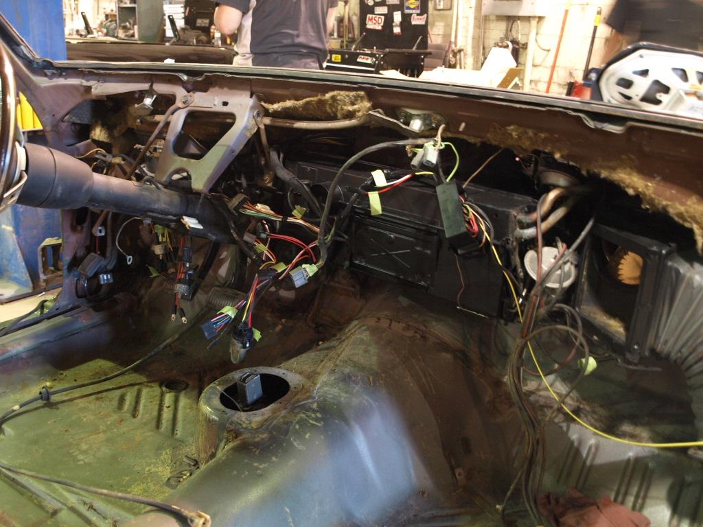 B Body Diagram Box 1966 Steering