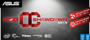 ASOS Republic of Gamers OC Showdown 2015