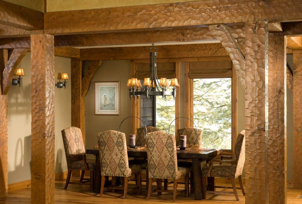 New Meadows Idaho Timber Home By PrecisionCraft