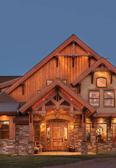 Build Own Log Cabin