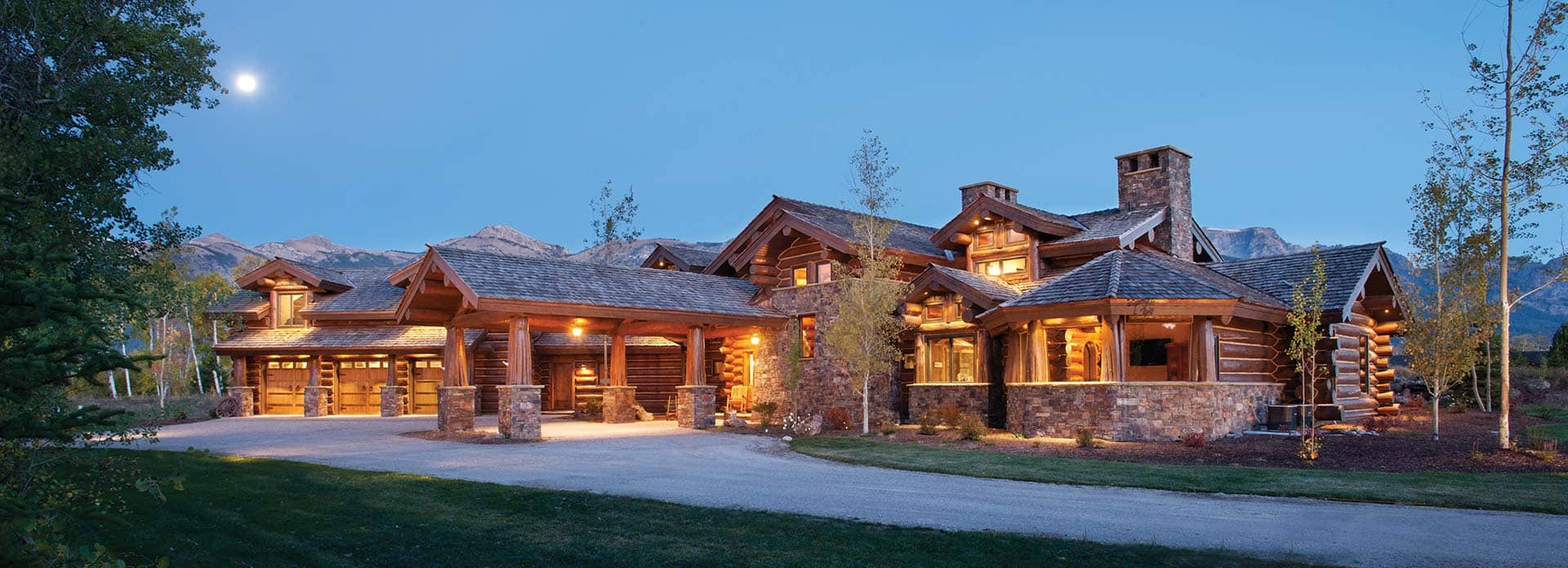 Best Kitchen Gallery: Handcrafted Log Homes Precisioncraft of Luxury Log Home Designs  on rachelxblog.com