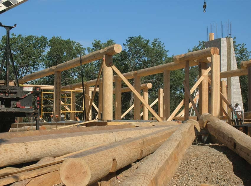Post and Beam Homes   by PrecisionCraft wood home fabrication Build Post and Beam
