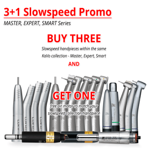 3+1 Slowspeed Handpiece Promotion
