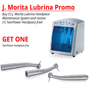 J. Morita Lubrina Handpiece Maintenance System Promotion