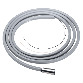 Discontinued DCI ISO-C 6 Pin Power Optic Handpiece Tubing 5' Light Sand Straight