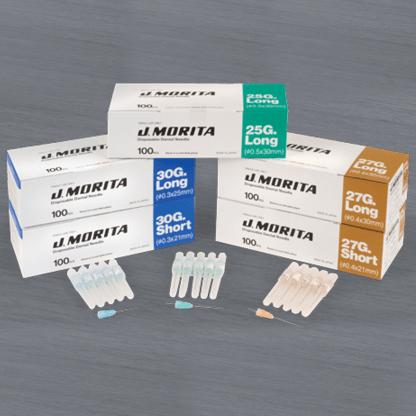 J. Morita Disposable Dental Needles 30 G Long (25 mm)