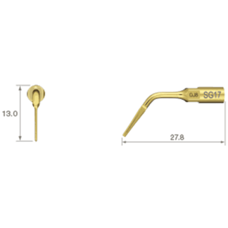 NSK VarioSurg Piezo Surgical Extraction Tip SG17