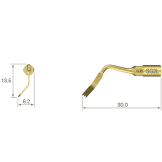 NSK VarioSurg Piezo Surgical Tip SG2L
