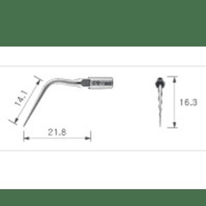 NSK Varios Ultrasonic Scaler Endo Tip E8D