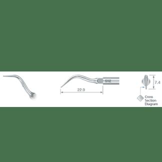 NSK Varios Ultrasonic Scaler Tip G12