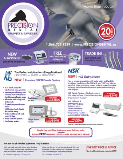 Precision Dentals Promo Flyer