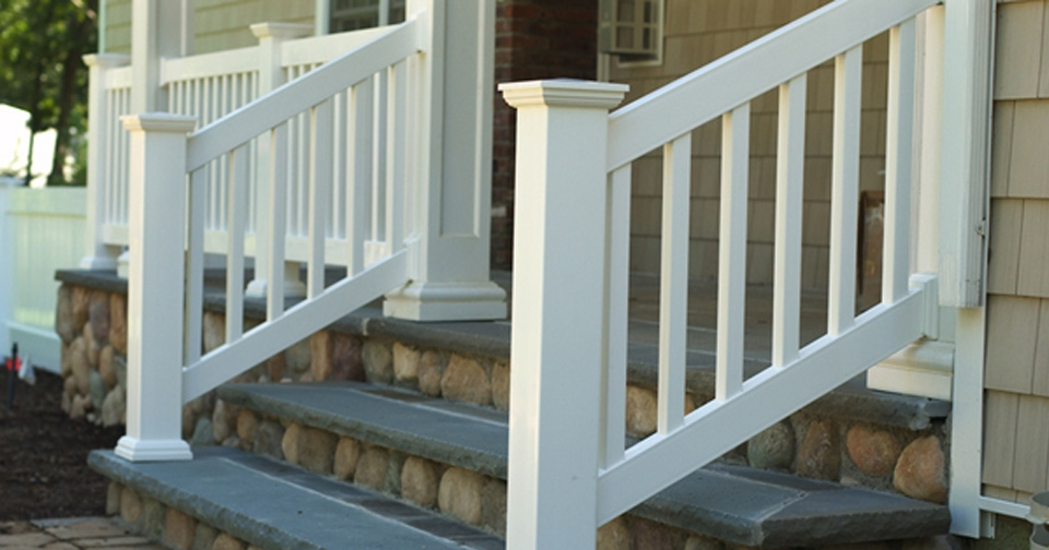 Outdoor Railing Services Long Island | Long Island Custom Railings | Wrought Iron | Aluminum Railings | Staircase | Stairs | Porch