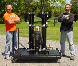Skid-Mounted Mobile Filter System for Oil