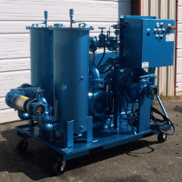 Hydraulic Oil Flushing Portable Filter System