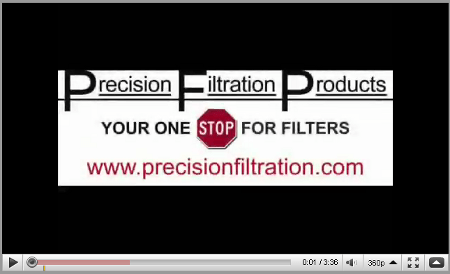 Commercial & Industrial Filter Videos | Precision Filtration Products