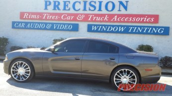 2013 Dodge Charger 24in Chrome Wheels
