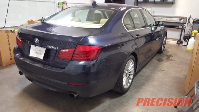 BMW 535i Llumar CTX