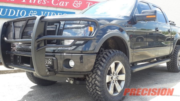 Ford F150 ProComp Suspension Lift Nitto Tires Westin Grille Guard