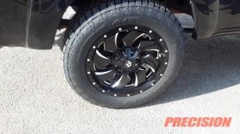 Black Toyota Tundra Fuel Wheels Nitto Tires-1
