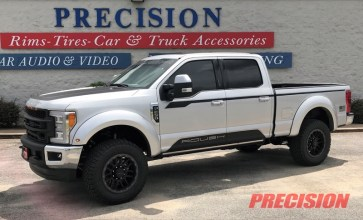 F-250 Premium Window Tint