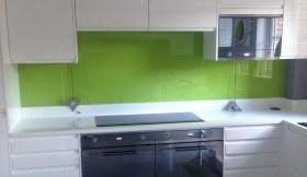 Lime Green Splashbacks