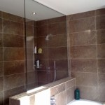 Nib wall shower screen