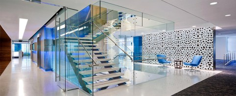 Office architectural glass