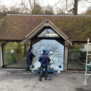 Oversize Glass Glazing