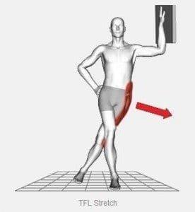 tensor fasciae latae stretch graphic