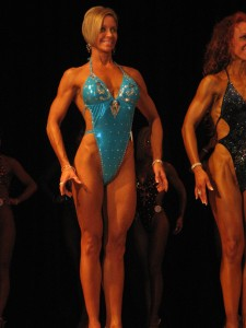 Sharon Briand, Grand Masters Figure Competitor - WOW!