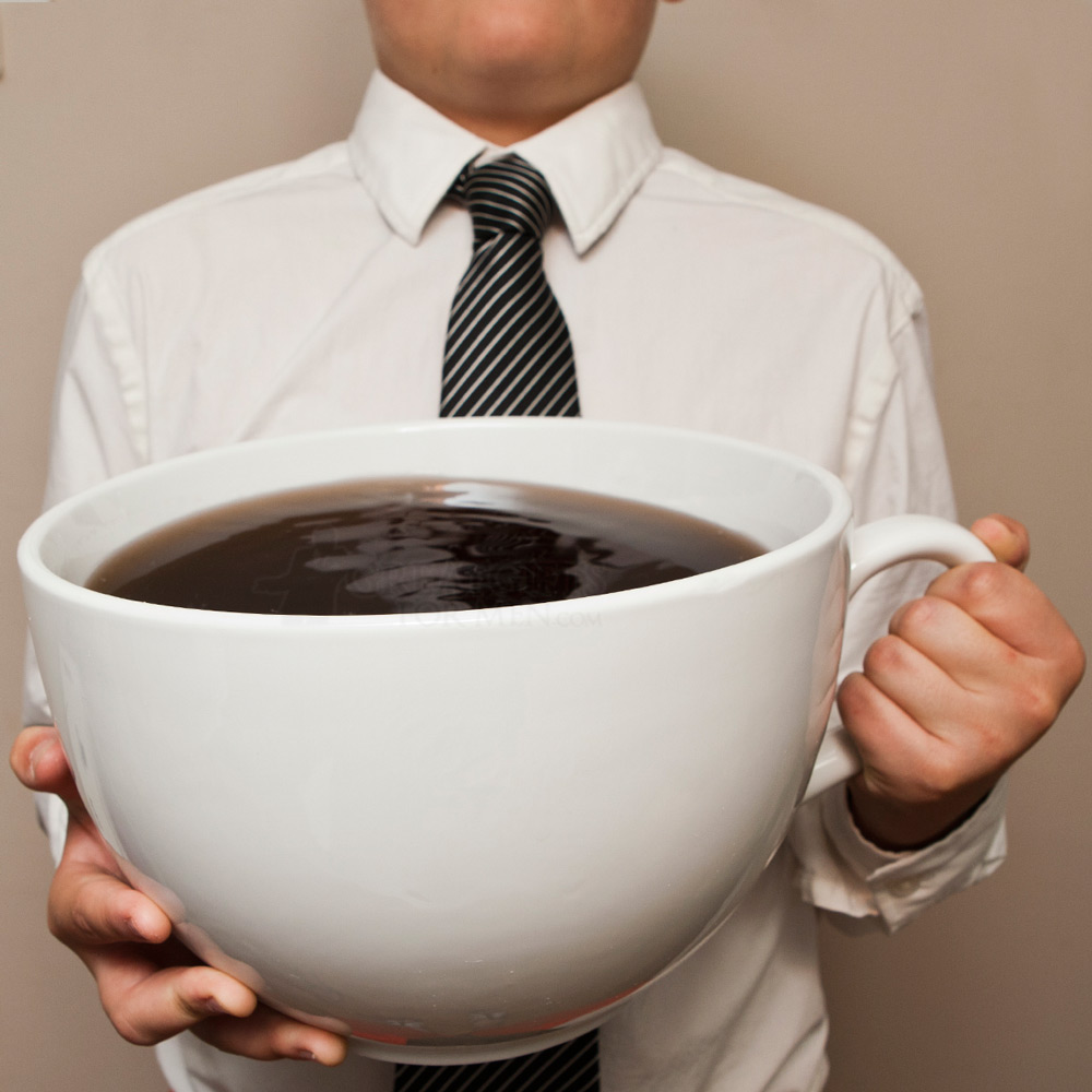 Coffee without pan di stelle