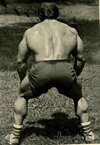 Don't forget that posterior chain!
