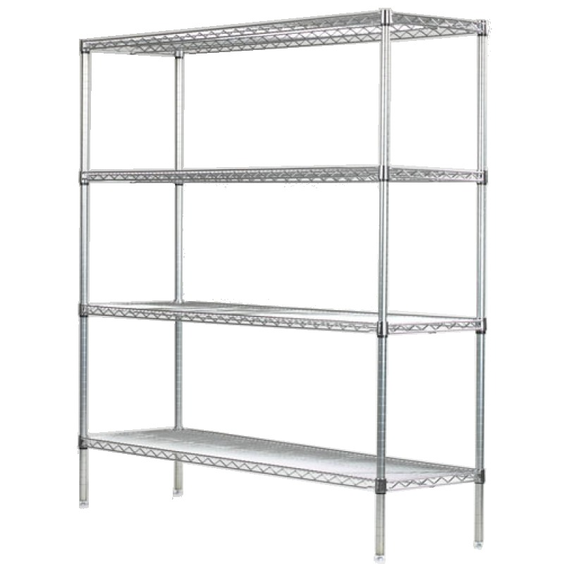 Wall Mount Shelving By Omega Products Corporation