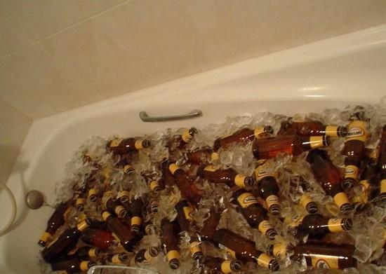 banheira cheia menor