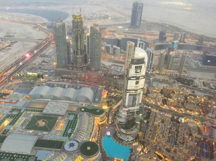 topo do burj khalifa
