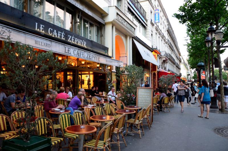 ruas para fazer compras em Paris Boulevard Montmartre