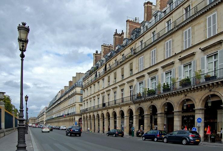 ruas para fazer compras em Paris Rua de Rivoli